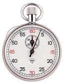 Chrome Plated Stopwatch